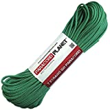 PARACORD PLANET 550-Pound Safety Type III Commercial Paracord (Kelly Green, 50 Feet)