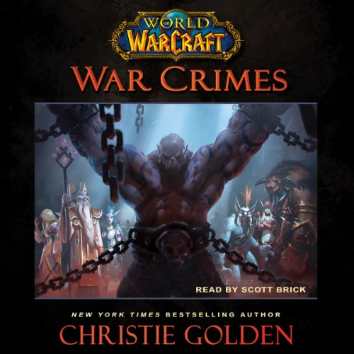 Page de couverture de World of Warcraft: War Crimes