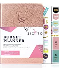 BUDGET PLANNING AT ITS BEST: Achieve your Financial Goals and Use the ZICOTO budget tracker to set new financial standards in your life, monitor your monthly income, savings, debts & daily expenses CREATE FINANCIAL FREEDOM: Start your journey to long...