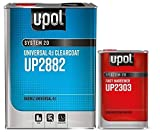 U-Pol 2882 Fast KIT Overall Clear Urethane CLEARCOAT Universal Clear 4:1 Fast...