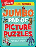 Jumbo Pad of Picture Puzzles (Highlights Jumbo Books & Pads)