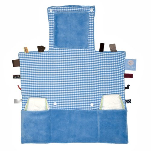 Snooze Baby Matelas à Langer Easy Changing Dolphin Blue