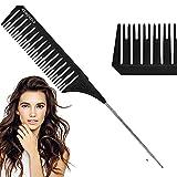 Peine para mechas, peine de pelo, peine de cola para peluquería,...