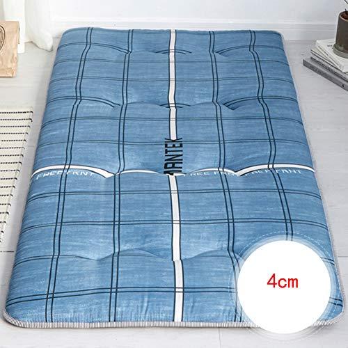 JINDSMART Japanese futon mattres,Breathable Futon Tatami Mattress Pad,Roll Up Mattress, Boys Girls Dormitory Mattress Pad