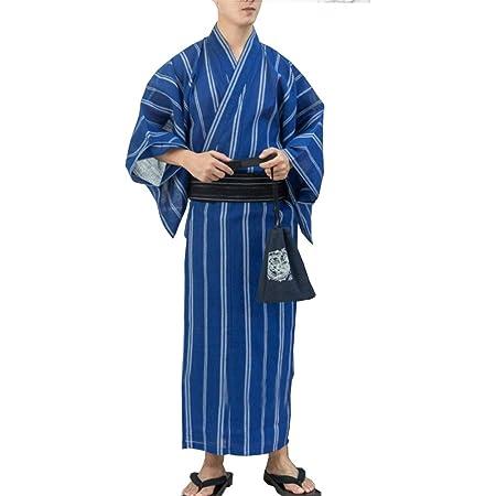 Kimono japonés para Hombre Yukata Kimono japonés Inicio ...