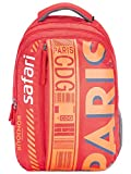 SAFARI 46 cms Red Laptop/Casual/School/College Backpack (WANDERER19CBRED)