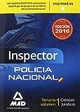 Inspectores del Cuerpo Nacional de Policía. Temario: Inspector de Policía Nacional. Temario Volumen 1 Ciencias Jurídicas
