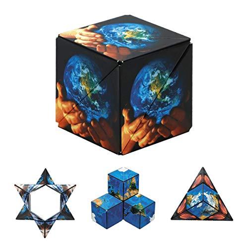 GeoBender - Cubo magnetico 3D 1 x World con 104 variaciones...