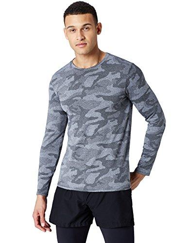 , camiseta tecnica manga larga decathlon, MerkaShop