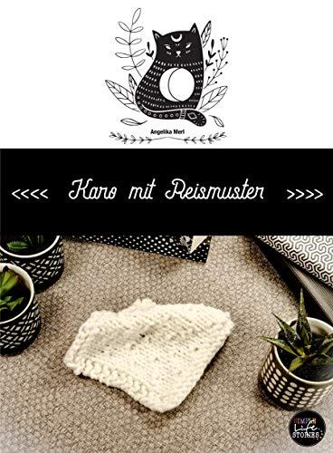 Strickanleitung: Reismuster stricken: Karo für die Kuscheldecke selber stricken