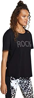 Rockwear Activewear Women's Urban Jungle Logo Front Tee from Size 4-18 for T-Shirt Tops
