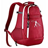 Nike Swingman 2.0 Backpack, baseball or softball bats Red
