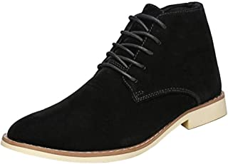 KemeKiss Men Lace Up Desert Boots