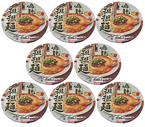 Nissin 7Premium Instant Cup Ramen Nakiryu Tantanmen 149g Japan Import Shipment with tracking number (8cups)