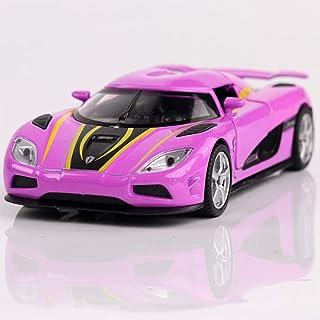 1:32 Koenigsegg Agera R Metall Die Cast Modellauto Auto Spielzeug Schwarz Model
