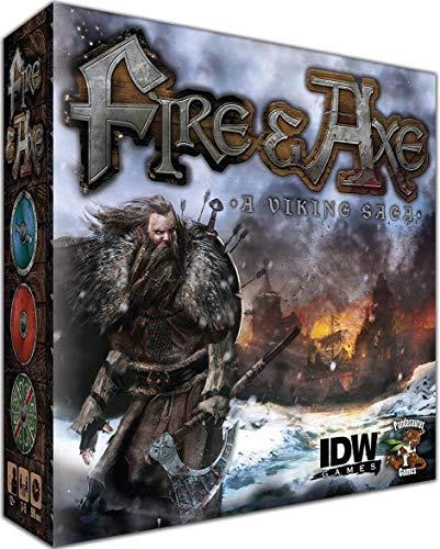 IDW Games IDW00850 - Fire und Axe Brettspiel