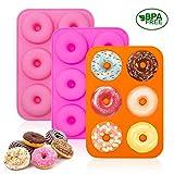 U&X Silikon Donutform Donut Backform stücks Orange