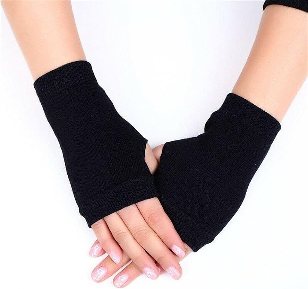 WBDL 1 Pair Women Warm Winter GlovesWinter Gloves Female Fingerless Gloves Women Hand Wrist Warmer Mittens