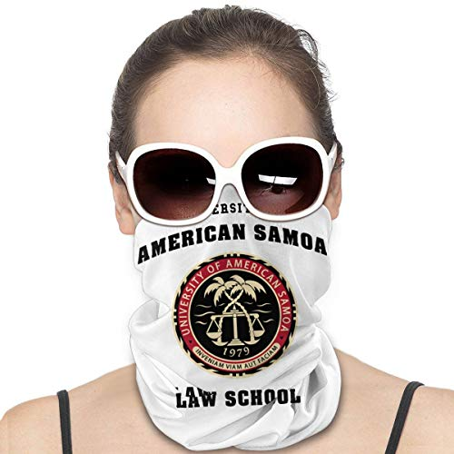 University of American Samoa Law School winddichter Gesichtsschutz Multifunktionstuch Bandana Balaclavas Halstuch Gaiter
