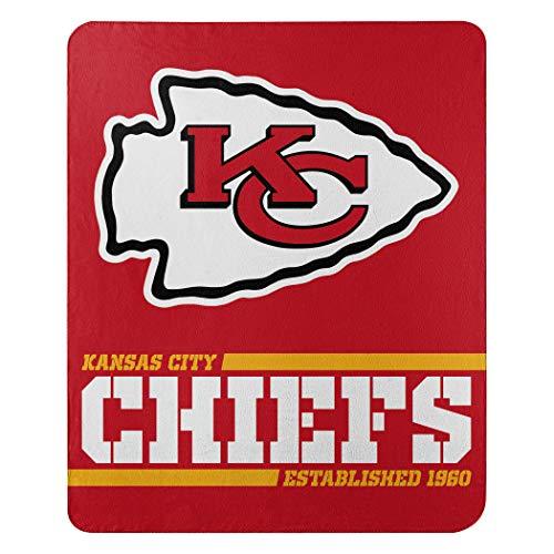 Kansas City Chiefs Offizielle NFL Decke, Fleecedecke in 127 x 152 cm