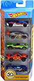 HOT WHEELS 50th Track Stars 5-pack