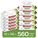 560-Count Huggies Natural Care Baby Wipes