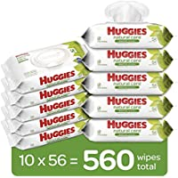 560-Count (10 x 56-Pack) Huggies Natural Care Baby Wipes