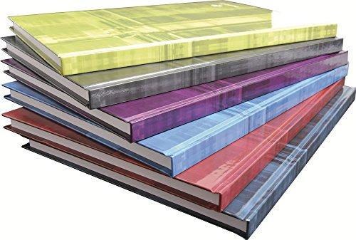 Clairefontaine 9045C - Quaderno A4 con copertina rigida, 96 fogli a righe con margine, colori assortiti, 1 pezzo
