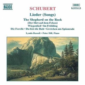 SCHUBERT: Lieder (Russell)