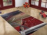 Oedim Alfombra Infantil Dormitorio niños Baloncesto PVC 95x200cm |Alfombra Infantil PVC| Esterillo Infantil PVC|Suelo vinilico para niños|