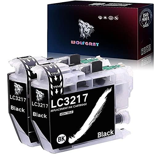Wolfgray LC3217 Cartuchos de Tinta Compatible para Brother LC3219 XL LC3217 Tinta para Brother MFC-J5330DW MFC-J5335DW MFC-J5730DW MFC-J5930DW MFC-J6530DW MFC-J6930DW MFC-J6935DW