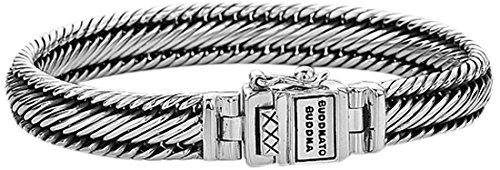 Boeddha To Boeddha Edwin XS zilveren armband 001 K011550108