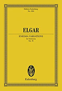 Enigma Variations: Op. 36 (Eulenburg Studienpartituren) (English Edition)