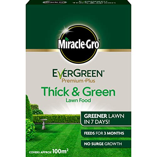 Miracle-Gro EverGreen Premium Plus Thick & Green Lawn Food 8kg - 100 m2