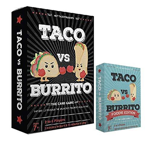 Taco vs Burrito + Foodie Expansion …