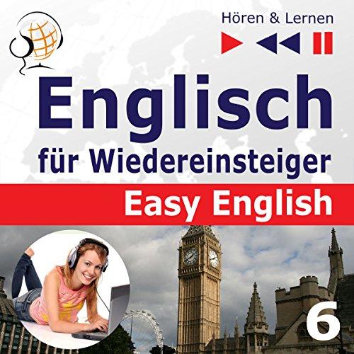 Auf Reisen: Englisch für Wiedereinsteiger - Easy English - Niveau A2 bis B2 (Hören & Lernen 6) audiobook cover art
