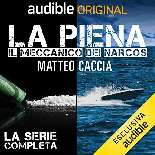La piena audiobook cover art