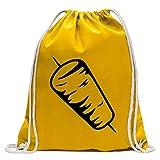 Kiwistar Rotisserie - Kebab Fun Sac à Dos Sport Sac de Remise en Forme Gymbag Shopping Coton avec Cordon