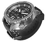 HAZARD 4 Heavy Water Diver(TM) BlackTie: Titanium Tritium Dive-Watch!! - BBRB
