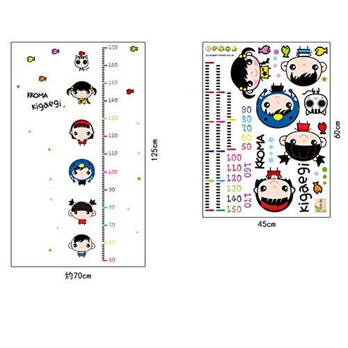 Chambre de bébé/chambre d'enfant/salle de classe décoratifs Toise Sticker mural Stickers, Baby