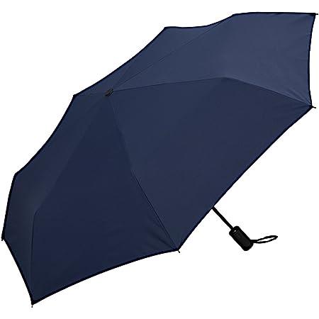 ワールドパーティー(Wpc.) 雨傘 折りたたみ傘 自動開閉傘 ネイビー 58cm レディース メンズ ユニセックス MSJ-007