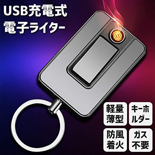 iQlabo『USB充電式電子ライターキーホルダータイプ』