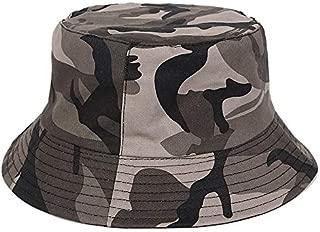 Men Casual Camouflage Summer Fisherman Military Panama Safari Boonie Outdoor Sun Bucket Hats