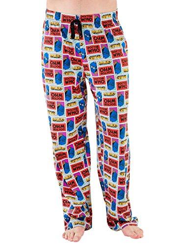 Doctor Who Mens Pajama Lounge Pant