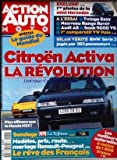 ACTION AUTO MOTO [No 6] du 01/10/1994 - CITROEN ACTIVA - LA REVOLUTION - PLUS...
