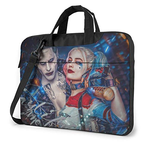 Clown Girl Laptop Bag Tablet Briefcase Portable Protective Case Cover 13 inch LAP-4077