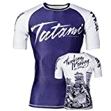 Tatami Fightwear Thinker Monkey S/S Rash Guard - Camiseta para Hombre, Hombre, Color Azul,...