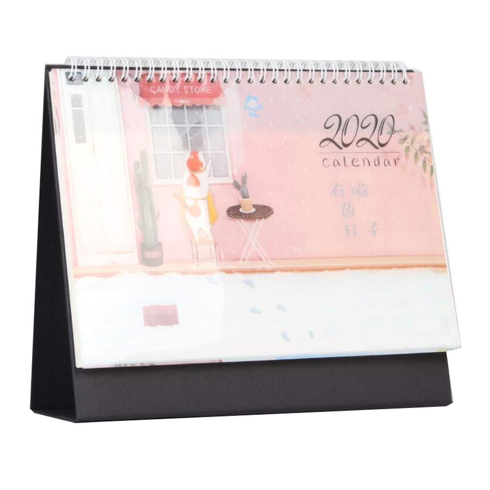 Estilo japones Calendario de escritorio 2020 Calendario de ...
