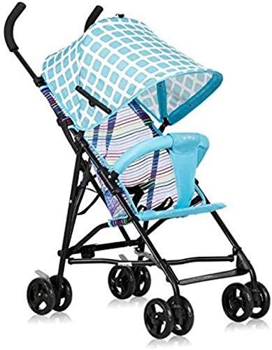 Landaus Poussette bébé Go Out Ultra léger Can Sit été Chariot léger Pliant Simple Portable Parapluie Enfant Fournitures pour bébé ( Color : B )