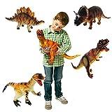 Grandes Dinosaurios Plásticas Animales para niños Figura de juguete aleatoria (1 pieza) [Toy]...